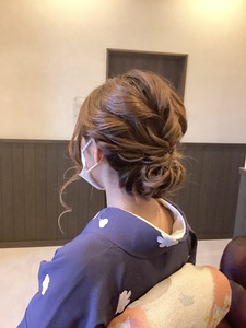 2021.入学式HairSet